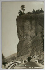 Vintage 1939 Oneonta Tunnel Columbia River Hw Oregon Real Photo Postcard RPPC OR