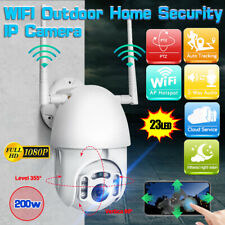 1080P IP Camera Home Security IR Cam HD WIFI Wireless Outdoor CCTV US WHITE