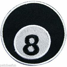 Ball Tennis Ping-Pong Pool 8 Eight Biker Rockabilly Tattoo Iron on Patches #0782
