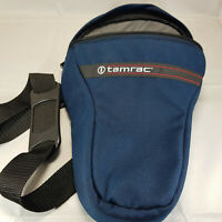 Blue Tarmac Camera Bag with Shoulder Strap