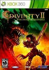Divinity II: The Dragon Knight Saga 2 USED SEALED (Microsoft Xbox 360, 2011)