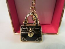 Juicy Couture Black Daydreamer Bag Charm - New in Box