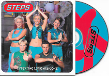 STEPS - After the love has gone CD SINGLE 2TR EU CARDSLEEVE 1999 Europop