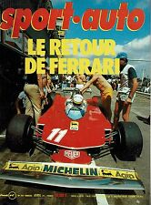 SPORT AUTO 207 1979 GP AFRIQUE D SUD INNOCENTI DE TOMASO RALLYE PORTUGAL DAYTONA