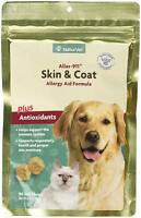 NaturVet Aller 911 Skin & Coat Plus Antioxidants Allergy Dog & Cat 90 Soft Chews