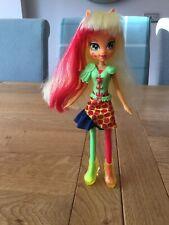 Rainbow Rocks Applejack My Little Pony Equestria Girls Doll Excellent Condition