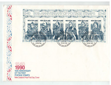 1995 NEW ZEALAND 150th  CENTENARY Of Postage Stamps Mini Sheet  FDC