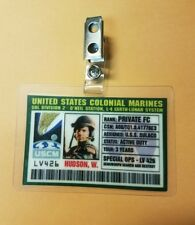 Aliens Id Badge-United States Colonial Marines Hudson costume prop cosplay