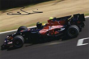 Sebastien Buemi - Swiss F1 Racing Driver - In Person Signed Photograph.