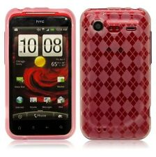 Soft Flexi TPU Crystal Skin Cover Phone Case for HTC Droid Incredible 2 6350