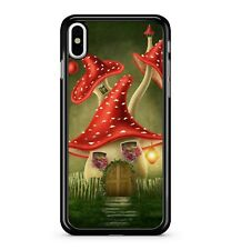 Lost Ancient Fabulous Forest Magical Mystical Mushroom House 2D Phone Case Cover