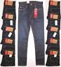 Levi's 510 Skinny Stretch Men's Jeans #055100579 Dark Blue Sizes 26,29,30,32,34