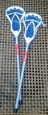 �� 2 Lacrosse Stx Fiddle Sticks 32� full length Head Shaft Complete