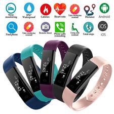 Smart Watch Bracelet Heart Rate Monitor Blood Step Counter Fit*Bit Tracker