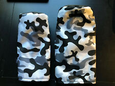 Cayce Driver & Fairway Headcovers Black White Grey Camo