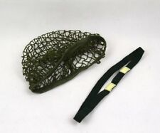 Military WWII US Army M1 Helmet Cover Netting & Cat Eyes  SET