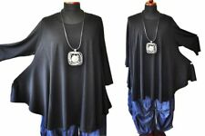 Estilo de Capas Ala-Túnica-Camisa Jersey Negro Black Gr.4, 54,56, XXXXXL