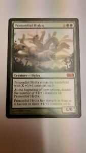 Magic the Gathering Primordial Hydra M13 MTG Core 2013 card very good condition