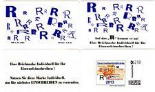 Portocard Individuell, Wertstufe 218c! Einzelfrankatur Einschreiben 2013!  RR!