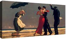 Jack Vettriano Quadro stampa su tela cm 100x50 Quadri Moderni XXL Arte