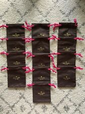Kate Spade New York 13 Jewlery Dust Bags Travel Drawstring Pouches