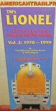 TM's Lionel Illustrated Price & Rarity Guide Vol.2 1970-1999