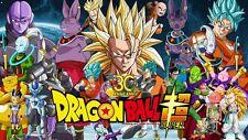 Dragon Ball Super Episodes 1-122 English Sub DVD + 2 movies