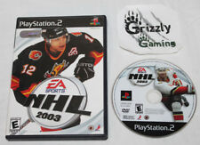 USED EA Sports NHL 2003 Sony PS2 (NTSC) -Canadian Seller-