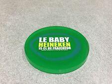SOUS BOCK PVC VERT BIERE BEER BIER HEINEKEN LE BABY 15 CL DE FRAICHEUR N°2 RARE