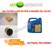 DIESEL OIL AIR FILTER KIT + FS PD 5W40 OIL FOR CITROEN DS4 2.0 163 BHP 2011-