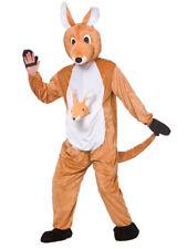 Animal Jumpsuit Fancy Dress Book Week Characters Mens Mascot Costume Kangaroo