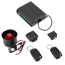 Universal Car Alarm System with Flip Key Remote Control Central Door Lock