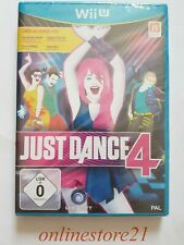 Just Dance 4 Nintendo Wii U NEU