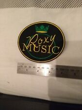 Roxy Music Sew on patch, new copy of Siren Tour arm patch worn by Bryan Ferry