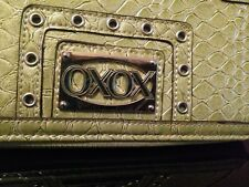 XOXO Faux Alligator Crocodile Wallet Coin Purse Light Green Excellent Condition!