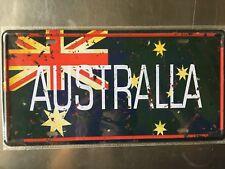 Australla Metal Car Decorative License Plate United States Home Decor Signs