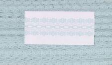 Sky Blue Eyelet Coathanger Lace (x 3.2 metres)