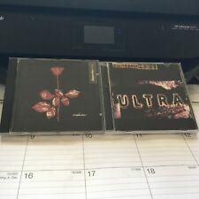 DEPECHE MODE 2 CD LOT: VIOLATOR AND ULTRA
