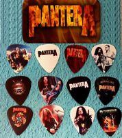 PANTERA  Guitar Pick Tin Includes Set of 12 Guitar Picks