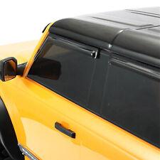Transparentes schwarz Sonnenvisier Wind Regenschutz für 1/10 Trx-4 Bronco RC Car
