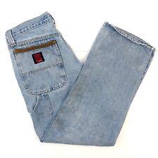 Riggs Workwear by Wrangler Jeans 33x30 Carpenter DuraShield Denim Mens 34x30