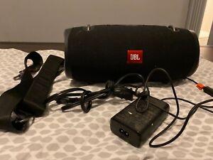 JBL Xtreme 2 Wireless Speaker BLACK Waterproof Bluetooth Stereo Extreme 2