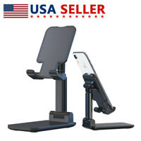 Metal Alloy Desktop Tablet Live Holder Table Foldable For iPad Cell Phone Stand