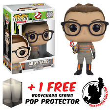 FUNKO POP GHOSTBUSTERS ABBY YATES VINYL FIGURE + FREE POP PROTECTOR
