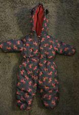 Little Rebel Baby Snow Suit All In One Coat 9-12 Months Deer