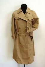 Daks 2R Designer Damen Winter Mantel Beige Unifarben Gr. 36 TOP!