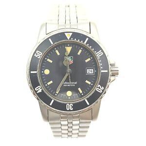 Tag Heuer Watch  WD1210-G-20 Professional 200 operates normally 1907215