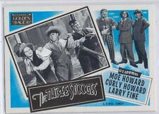 THREE STOOGES - 2013 Panini GOLDEN AGE Insert SP Set #9 - CURLY, MOE & LARRY