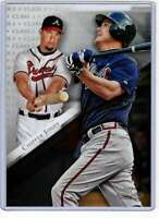 Chipper Jones 2019 Topps Gold Label Class One 5x7 #73 /49 Braves