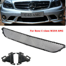 For Mercedes-Benz W204 Front Grill C-Class Lower Bumper Grille AMG 2007-2011